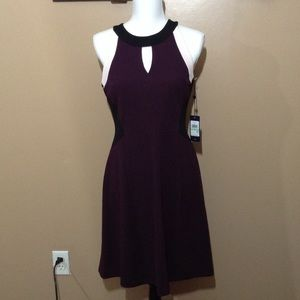 NWT Tommy Hilfiger color block  keyhole dress